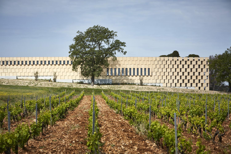 Les Domaines Ott Château de Selle – ღვინის მარანი ტარადოში